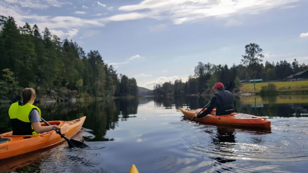 kayak tour oslo